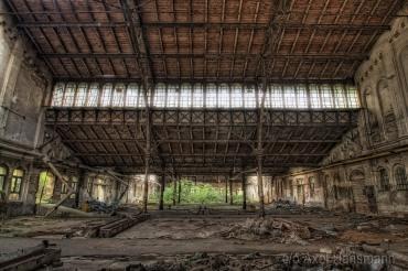 Ehemalige Schlachthof in Halle