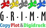 GRIMM Logo transparenter hintergrund 5cm breit